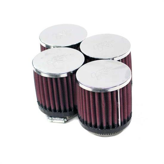 K&N RC-0874 Performance Air Filters, 3in Tall, Round