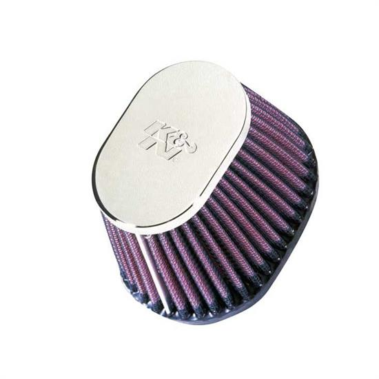 K&N RC-0981 Performance Air Filters, 2.75in Tall, Oval Straight