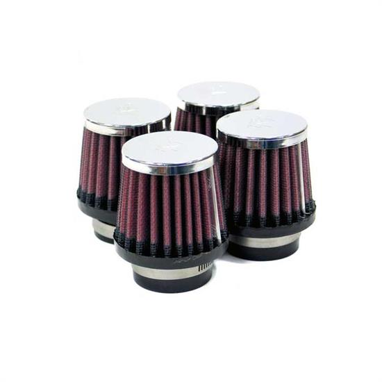 K&N RC-1064 Performance Air Filters, 3in Tall, Round Tapered