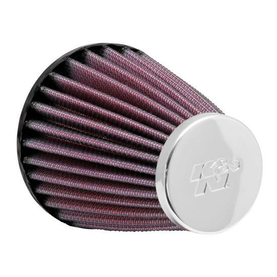 K&N RC-1200 Performance Air Filters, 4in Tall, Round Tapered