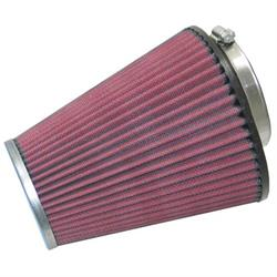 K&N RC-1586 Performance Air Filters, 6.625in Tall, Round Tapered