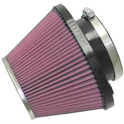 K&N RC-1601 Powersports Air Filter, 5in Tall, Oval Tapered
