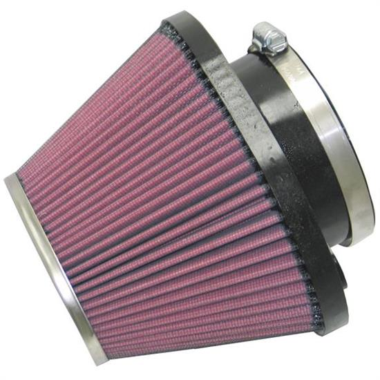K&N RC-1620 Performance Air Filters, 4.813in Tall, Round Tapered