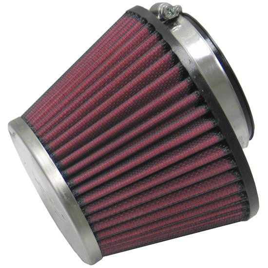K&N RC-1624 Performance Air Filters, 3.75in Tall, Round Tapered
