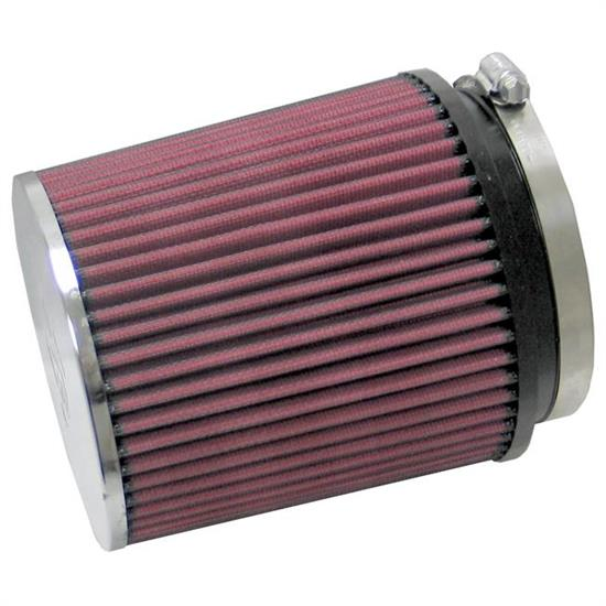 K&N RC-1645 Performance Air Filters, 6in Tall, Round Tapered