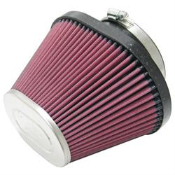 K&N RC-1680 Powersports Air Filter, 4.75in Tall, Oval Straight