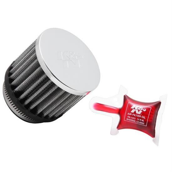 K&N RC-1880 Powersports Air Filter, 2.5in Tall, Round