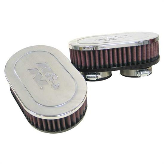 K&N RC-2282 Performance Air Filters, 2in Tall, Oval