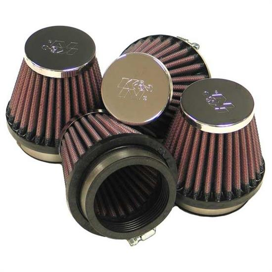 K&N RC-2344 Performance Air Filters, 2.75in Tall, Round Tapered