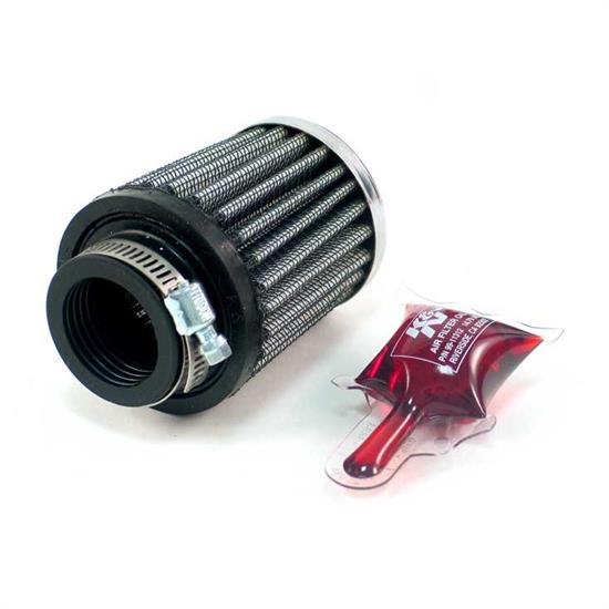K&N RC-2540 Performance Air Filters, 2.5in Tall, Round Tapered