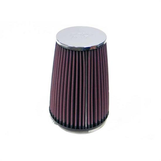 K&N RC-2710 Performance Air Filters, 6.5in Tall, Round Tapered
