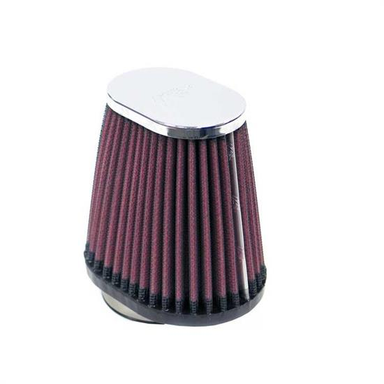 K&N RC-2810 Performance Air Filters, 4in Tall, Oval Straight