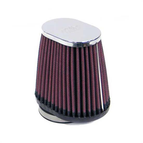 K&N RC-2900 Performance Air Filters, 4in Tall, Oval Straight