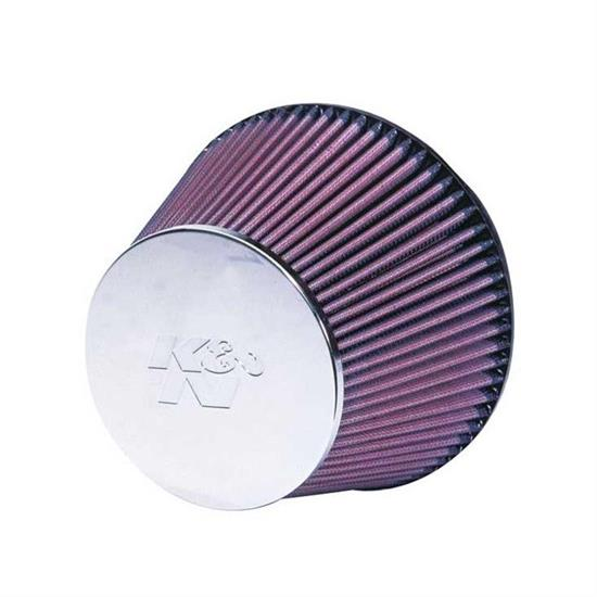 K&N RC-2960 Performance Air Filters, 5in Tall, Round Tapered