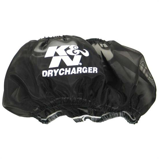 K&N RC-3028DK DryCharger Air Filter Wrap, 1.5in Tall, Black