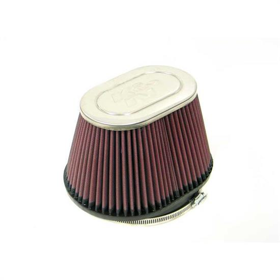 K&N RC-3160 Performance Air Filters, 5in Tall, Oval Straight
