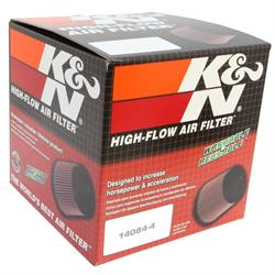 K&N RC-3250 Performance Air Filters, 6in Tall, Round Tapered