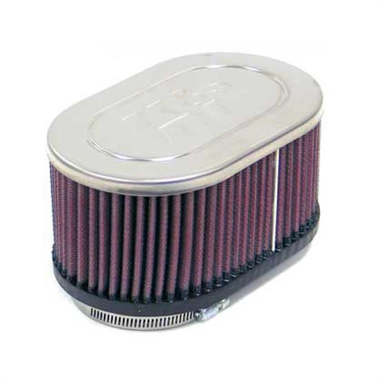 K&N RC-3512 Performance Air Filters, 3in Tall, Oval