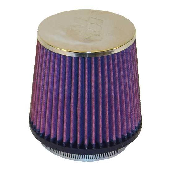 K&N RC-3600 Performance Air Filters, 5in Tall, Round Tapered