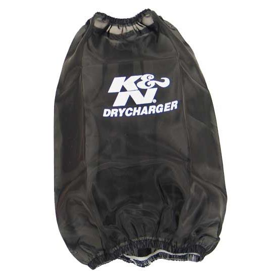 K&N RC-3690DK DryCharger Air Filter Wrap, 9in Tall, Black