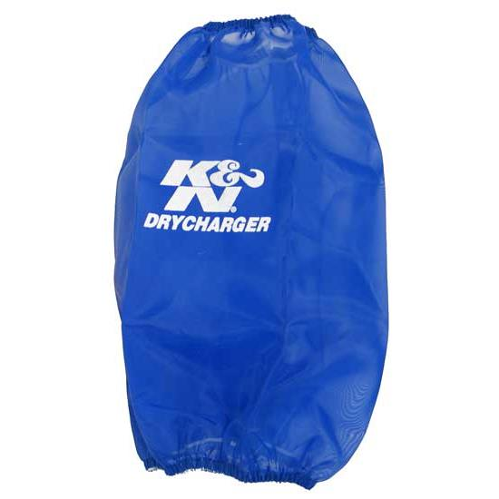 K&N RC-3690DL DryCharger Air Filter Wrap, 9in Tall, Blue