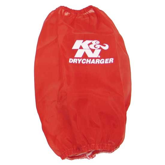 K&N RC-3690DR DryCharger Air Filter Wrap, 9in Tall, Red
