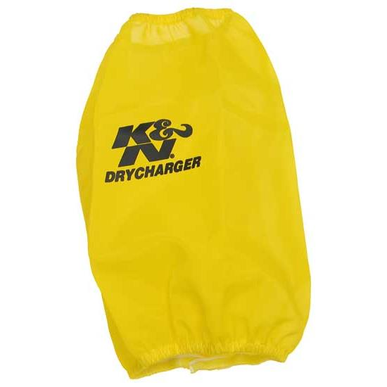 K&N RC-3690DY DryCharger Air Filter Wrap, 9in Tall, Yellow