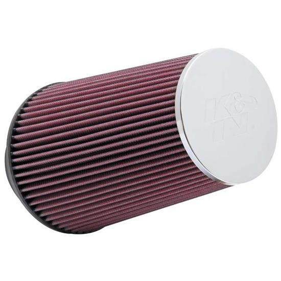 K&N RC-3690 Performance Air Filters, 9in Tall, Round Tapered