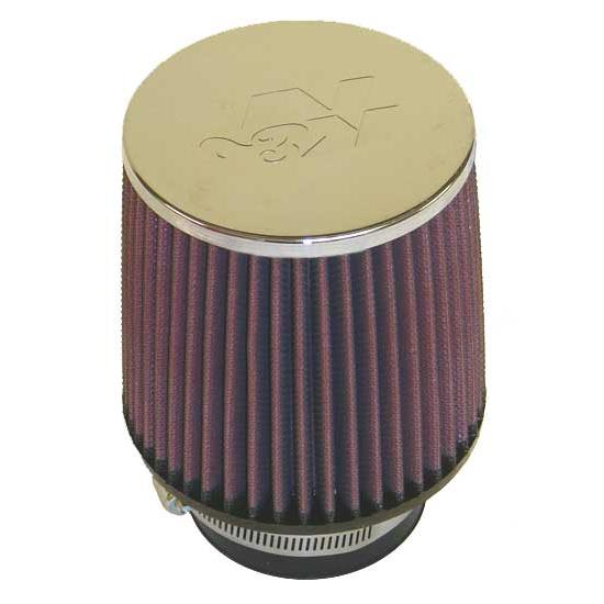 K&N RC-3870 Performance Air Filters, 5in Tall, Round Tapered