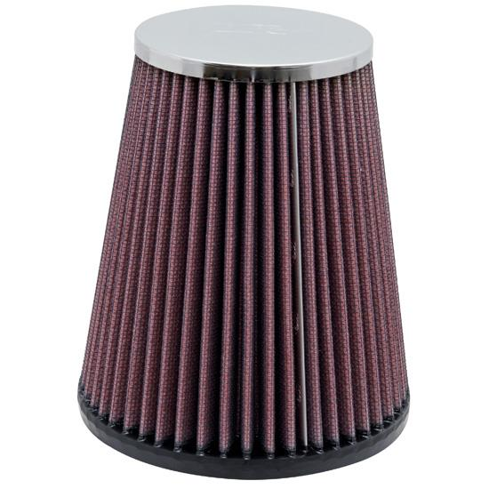 K&N RC-4160 Performance Air Filters, 6in Tall, Round Tapered