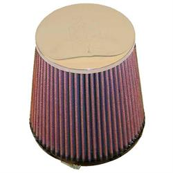 K&N RC-4180 Performance Air Filters, 6in Tall, Round Tapered