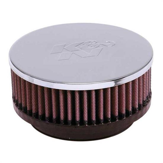 K&N RC-4230 Performance Air Filters, 2in Tall, Round Tapered