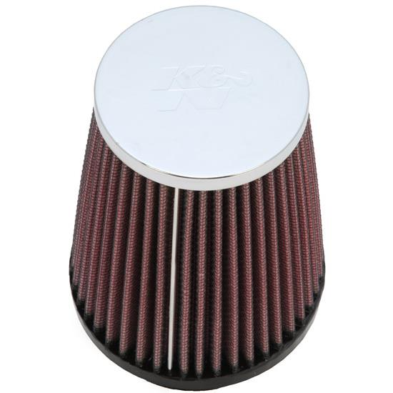 K&N RC-4340 Performance Air Filters, 5in Tall, Round Tapered