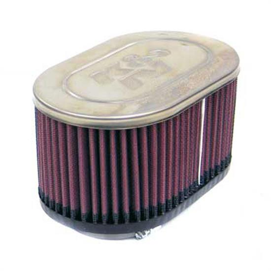 K&N RC-4350 Performance Air Filters, 3.25in Tall, Oval