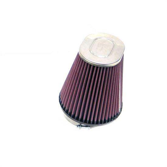 K&N RC-4400 Performance Air Filters, 6in Tall, Oval Straight