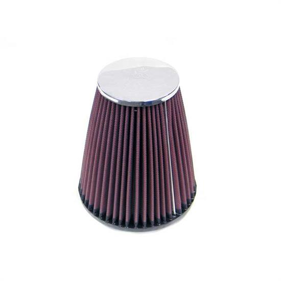 K&N RC-4470 Performance Air Filters, 6.688in Tall, Round Tapered