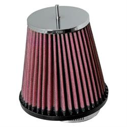 K&N RC-4500 Performance Air Filters, 5.125in Tall, Round Tapered