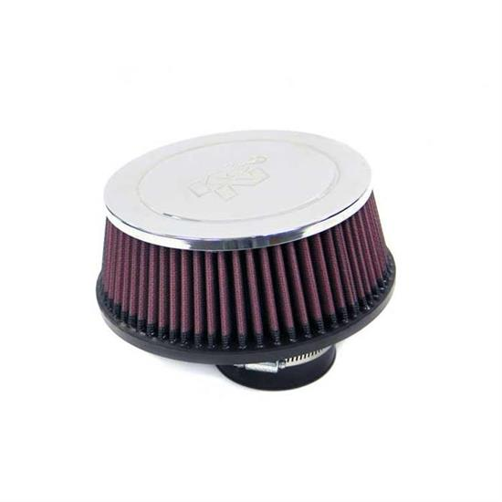K&N RC-4620 Performance Air Filters, 2.5in Tall, Round Tapered