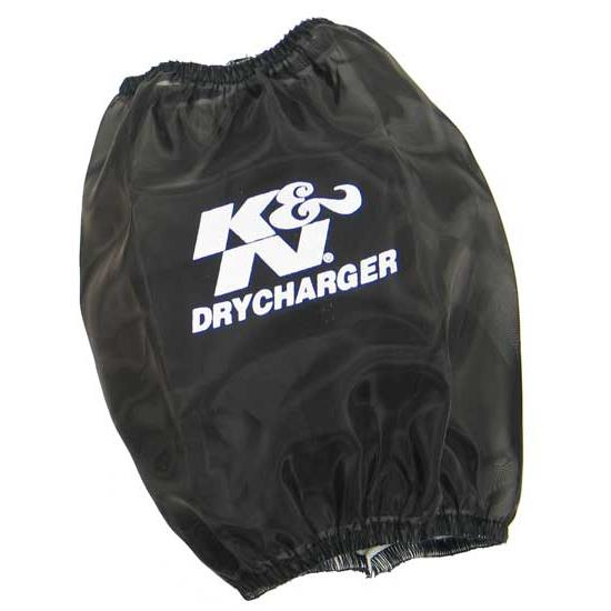 K&N RC-4630DK DryCharger Air Filter Wrap, 6.5in Tall, Black