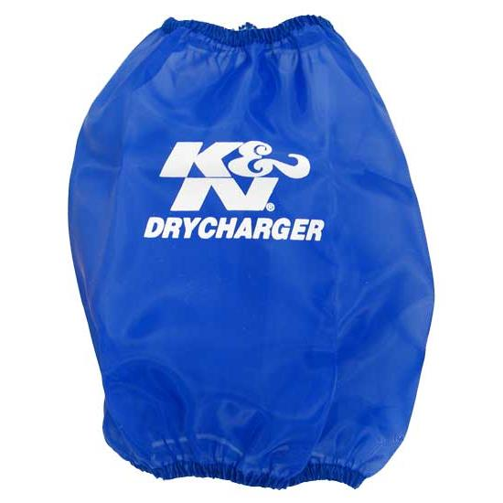 K&N RC-4630DL DryCharger Air Filter Wrap, 6.5in Tall, Blue