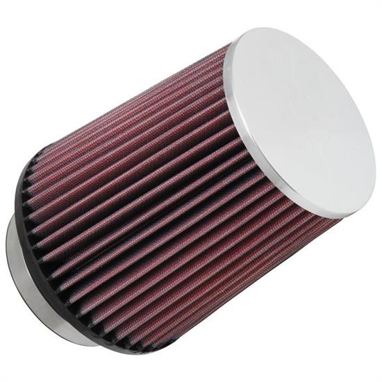 K&N RC-4630XD Performance Air Filters, 6.5in Tall, Round Tapered
