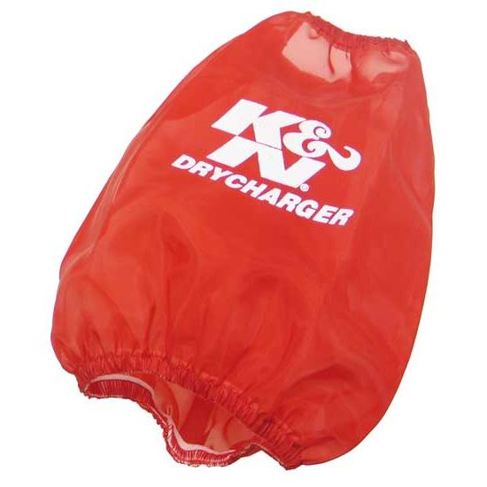 K&N RC-4650DR DryCharger Air Filter Wrap, 6in Tall, Red