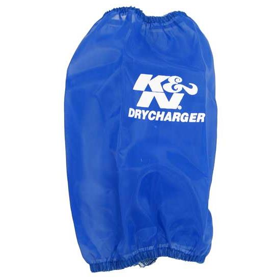K&N RC-4690DL DryCharger Air Filter Wrap, 7.875in Tall, Blue