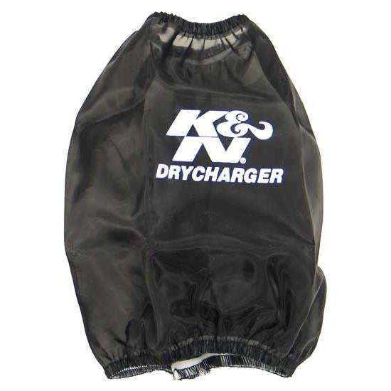 K&N RC-4700DK DryCharger Air Filter Wrap, 6.75in Tall, Black