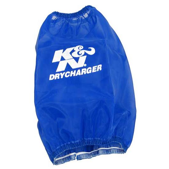 K&N RC-4700DL DryCharger Air Filter Wrap, 6.75in Tall, Blue