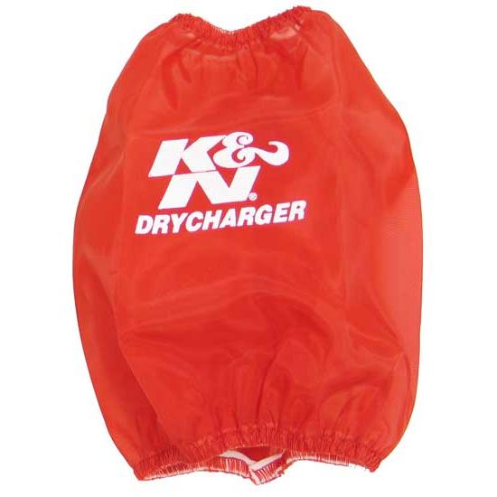 K&N RC-4700DR DryCharger Air Filter Wrap, 6.75in Tall, Red