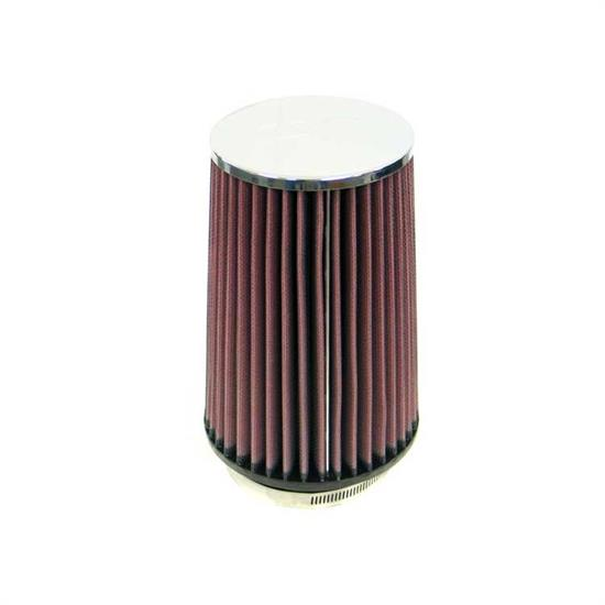K&N RC-4760 Performance Air Filters, 8in Tall, Round Tapered