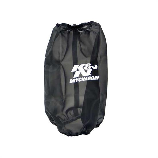K&N RC-4780DK DryCharger Air Filter Wrap, 9.5in Tall, Black