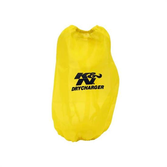 K&N RC-4780DY DryCharger Air Filter Wrap, 9.5in Tall, Yellow