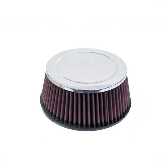 K&N RC-4850 Performance Air Filters, 3.25in Tall, Round Tapered